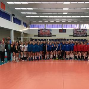 Полуфинал Первенства России по волейболу среди команд девушек 2002-2003 г.р.