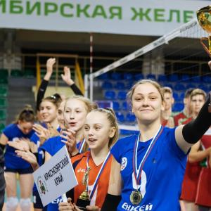 Сборная Красноярского края по волейболу в финале «Локоволей-2019»!