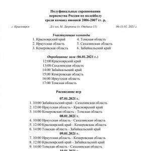 Полуфинал первенства РФ. Юноши 2006-2007 гг. р.
